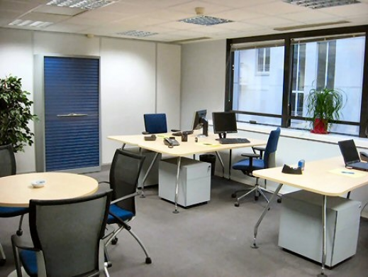 Bureaux équipés Office Space Capacity in London